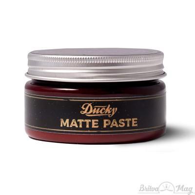 Паста для укладки волос Ducky Matte Paste, яблоко-корица