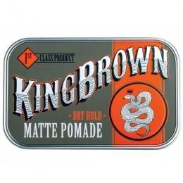 Помада для укладки волос King Brown Matte Pomade