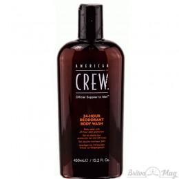 Гель для душа з дезодоруючим ефектом American Crew 24 Hour Deodorant Body Wash