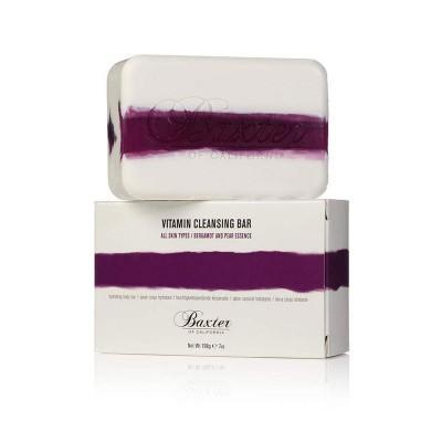 Мыло для лица и тела с ароматом бергамота и груши Baxter of California Vitamin Cleansing Bar Bergamot & Pear Essence