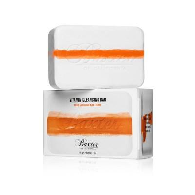 Мыло для лица и тела с ароматом цитруса и трав Baxter of California Vitamin Cleansing Bar Citrus & Herbal Musk