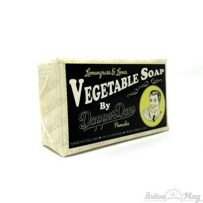 Мыло Dapper Dan Lemongrass & limes Vegetable Soap