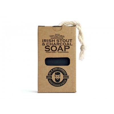 Мыло для тела Dr K Soap Company Irish Stout & Charcoal Soap 110 грамм