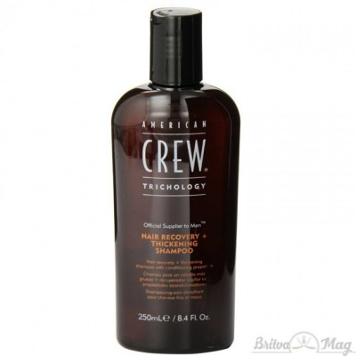 Шампунь восстанавливающий для уплотнения волос American Crew Hair Recovery+Thickening Shampoo