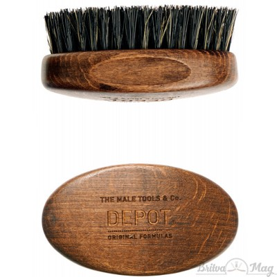Щетка для бороды Depot 722 Wooden Beard Brush