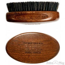 Щетка для бороды Depot 723 Wooden Beard Brush