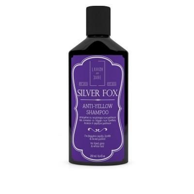 Шампунь для мужчин против желтизны волос Lavish Care Silver Fox Anti-Yellow Shampoo