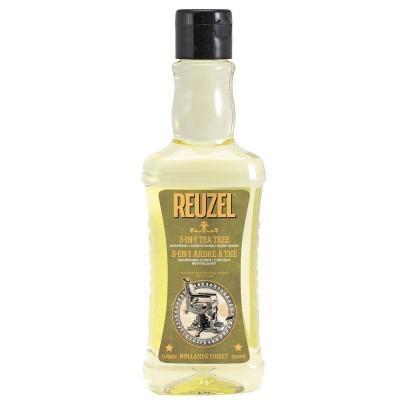 Шампунь для волос Reuzel 3-In-1 Tea Tree Shampoo 350мл