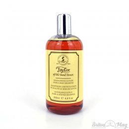 Шампунь для волос и тела Taylor of Old Bond Street Sandalwood Hair & Body Shampoo 200 мл