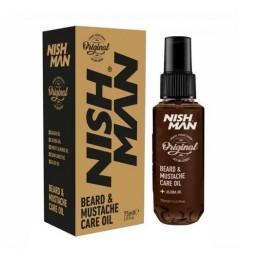 Масло для бороды Nishman Beard & Moustache Oil 75 мл