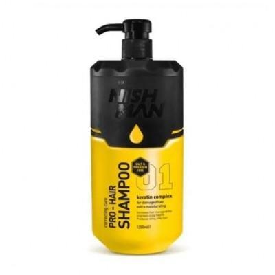 Шампунь для волос Nishman Pro-Hair Shampoo 1250 мл