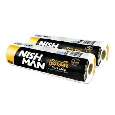 Бумажные воротнички для стрижки NISHMAN Professional Neck Paper 5x100 шт