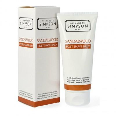 Бальзам после бритья Alexander Simpson Sandalwood Post Shave Balm, 100 мл