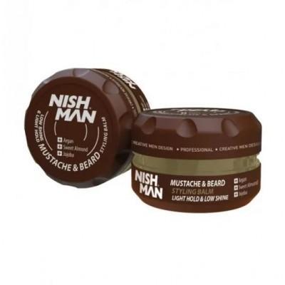 Бальзам для бороды Nishman Beard & Mustache Styling Balm 100 мл