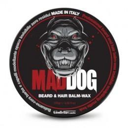 Бальзам-воск для бороды и волос Mad Dog Beard and Hair balm 100 мл