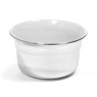 Чаша для бритья Omega Shaving Bowl Сhrome