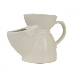 Чаша для бритья Vulfix белая