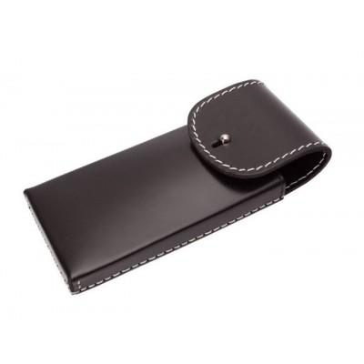 Футляр кожаный для 2-х опасных бритв Dovo 35009