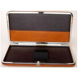 Футляр кожаный для 2-х опасных бритв Dovo 857050