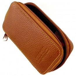 Кожаный чехол для Т-образной бритвы Parker LP4 Travel Case