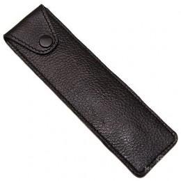 Кожаный чехол для опасной бритвы Parker LPST Black