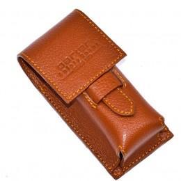 Кожаный чехол для помазка Parker LPBR Brown