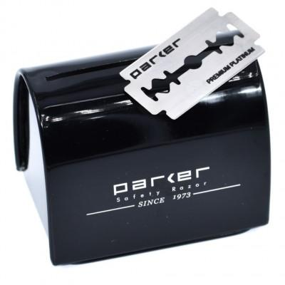 Накопитель для использованных лезвий Parker Double Edge Blade Disposal Bank
