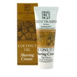 Крем для бритья Geo F Trumper Coconut Oil Soft Shaving Cream, 75 грамм