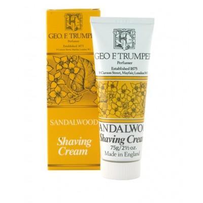 Крем для бритья Geo F Trumper Sandalwood Soft Shaving Cream, 75 грамм