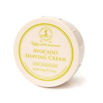 Крем для бритья Taylor of Old Bond Street Avocado Shaving Cream, 150 грамм