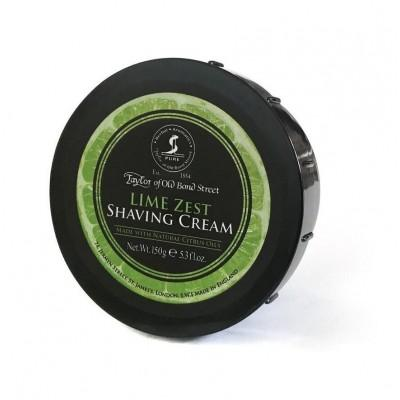 Крем для бритья Taylor of Old Bond Street Lime Zest Shaving Cream, 150 грамм