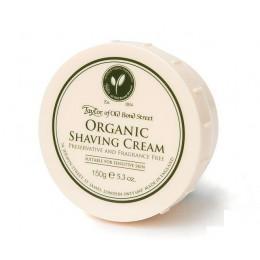 Крем для бритья Taylor of Old Bond Street Organic, 150 грамм