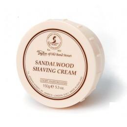 Крем для бритья Taylor of Old Bond Street Sandalwood, 150 грамм