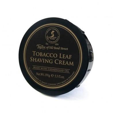Крем для бритья Taylor of Old Bond Street Tobacco Leaf Shaving Cream, 150 грамм