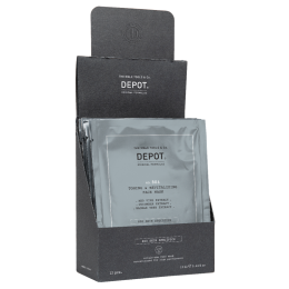 Тонизирующая маска для лица и шеи Depot 806 TONING & REVITALIZING FACE MASK (12 саше по 13 мл)