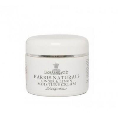Увлажняющий крем D R Harris Naturals Ginger and Lemon Moisture Cream, 50 мл
