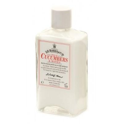Увлажняющее молочко для кожи MILK OF CUCUMBER & ROSES D R Harris, 100 мл
