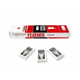 Лезвия для безопасной бритвы Feather New Hi-Stainless (15 лезвий)