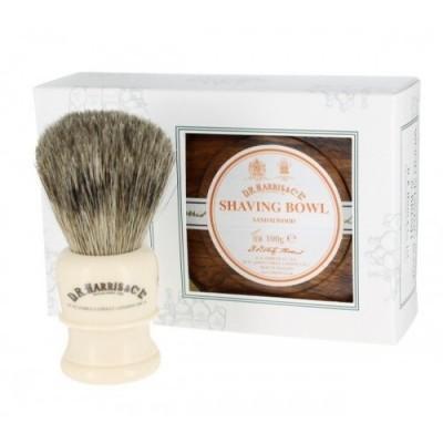 Подарочный набор D R Harris Sandalwood Shaving Gift Set Mahogany