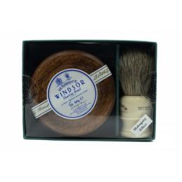 Подарочный набор D R Harris Windsor Shaving Gift Set Mahogany