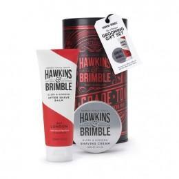 Подарочный набор для бритья Hawkins & Brimble Grooming Gift Set (Shave Cream & AfterShave Balm)