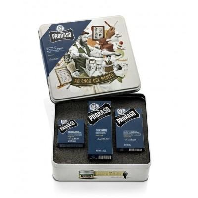 Подарочный набор для бритья Proraso Azur & Lime Shaving Kit
