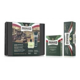 Подарочный набор для бритья Proraso Duo Pack Refreshing (Cream + Lotion)