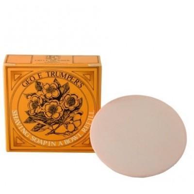 Мыло для бритья Geo F Trumper Almond Hard Shaving Soap, 80 грамм