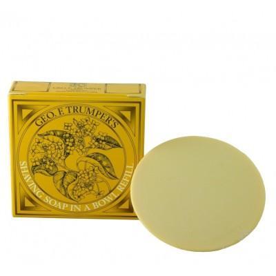 Мыло для бритья Geo F Trumper Sandalwood Hard Shaving Soap, 80 грамм