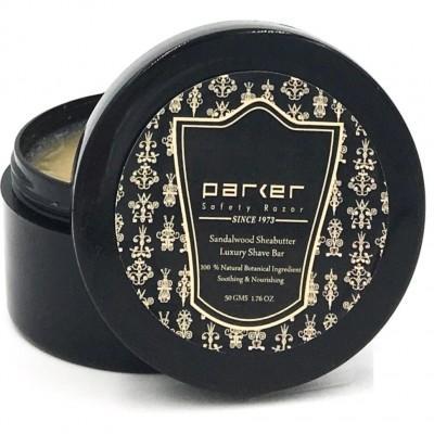 Мыло для бритья Parker Sandalwood & Shea в банке