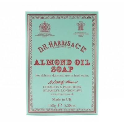 Мыло D R Harris Almond Oil Bath Soap Single, 150 грамм