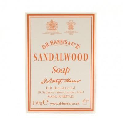 Мыло SANDALWOOD Bath Soap D R Harris, 150 грамм