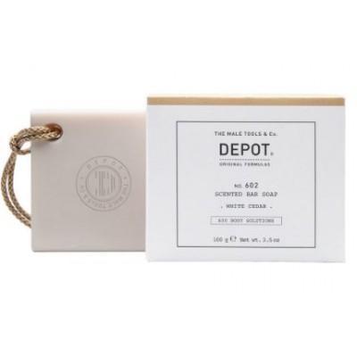 """Мыло для тела Depot 602 """"Белый кедр"""", 100 грамм"""