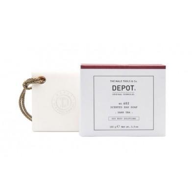 """Мыло для тела Depot 602 """"Черный чай"""", 100 грамм"""